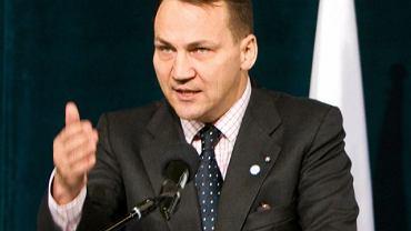 Były szef MSZ, Radosław Sikorski