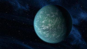 Ziemia 2.0 - wizualizacja planety Kepler-22b