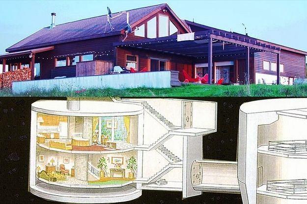 Dom ze schronem przeciwatomowym