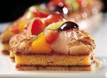 Ciasto marcepanowe z owocami - ugotuj