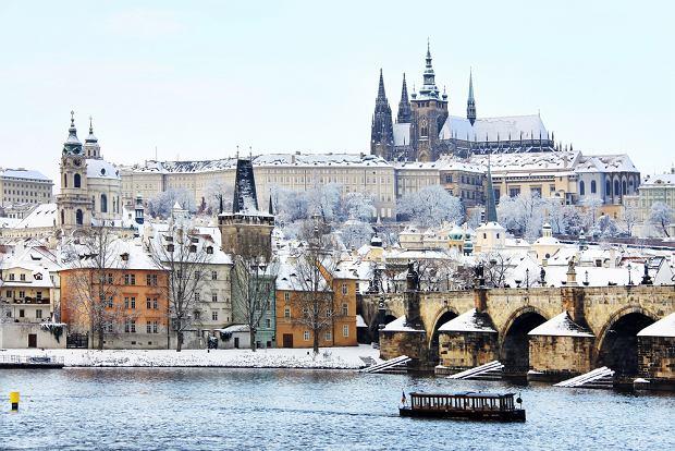Praga, Czechy, Zima