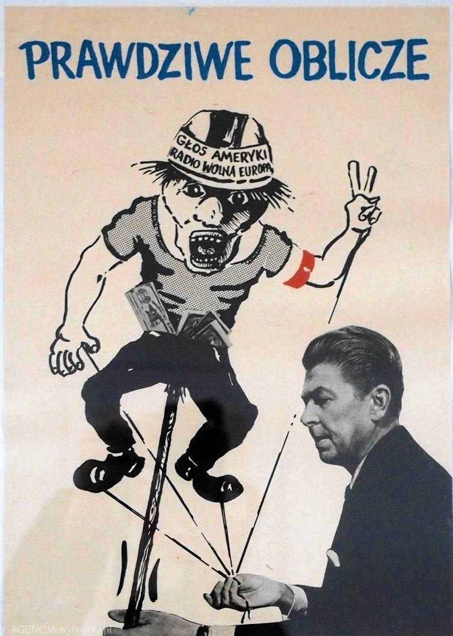 Reagan Niczym Demon Wojny Adenauer W Krzyżackim Płaszczu