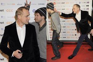 Na imprezie Kalendarz Dżentelmeni 2012 gwiazdy były w bardzo dobrych humorach. Szczególnie dobrze bawili się w swoim towarzystwie aktorzy: Łukasz Garlicki i Piotr Adamczyk.