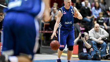 Krzysztof Szubarga jest kluczowym zawodnikiem Anwilu