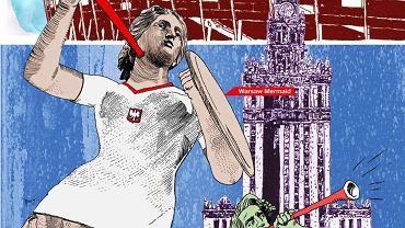 Reklama Warszawy w magazynie UEFA