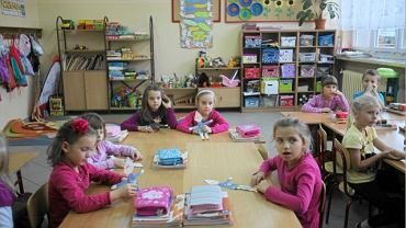 Sześciolatki w szkole podstawowej