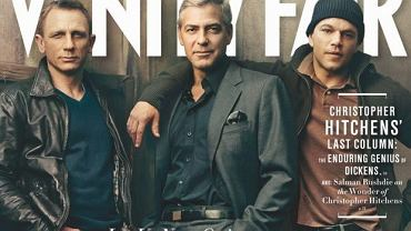 Daniel Craig, George Clooney, Matt Damon.
