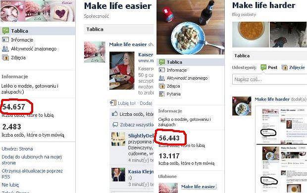 Make life easier, make life harder.