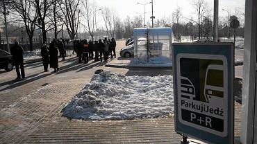 Parking przesiadkowy w Wawrze otwarto w 2012 r.