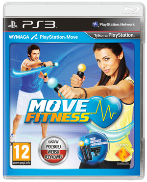 konsola, fitness, gry, Move Fitness ,ps3,