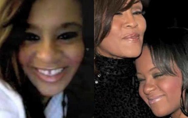 Bobbi Kristina i Whitney Houston.