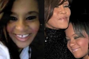 Bobbi Kristina i Whitney Houston.