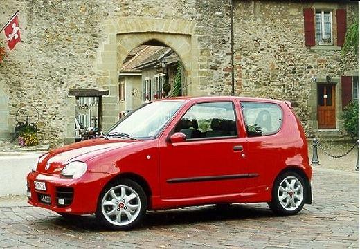 FIAT Seicento 98-05 1998 coupe przedni lewy