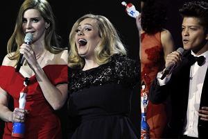 Te gwiazdy wróciły do domu ze statuetkami! Adele, Lana Del Rey i Bruno Mars.