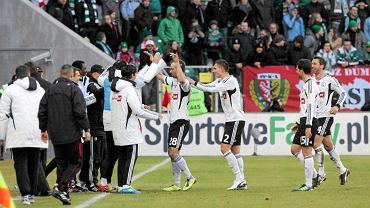 19. kolejka. Śląsk - Legia 0:4