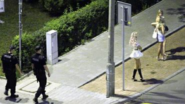 Prostytutki na ulicach polskich miast