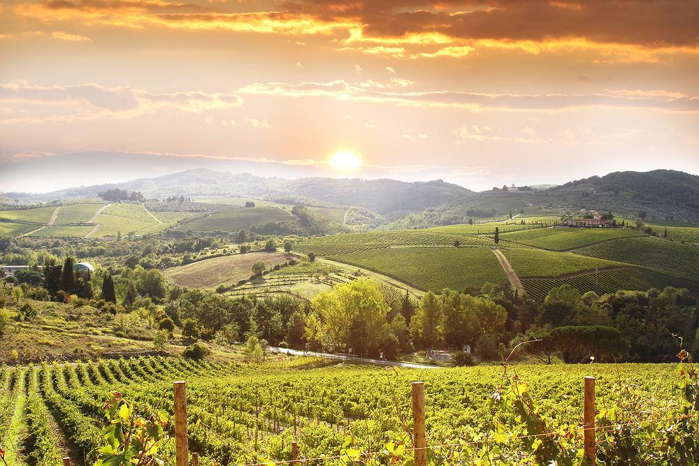 Włoskie wina,Toskania