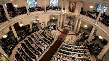 Nabożeństwo w Kościele Ewangelicko-Augsburskim pod wezwaniem Trójcy Świętej w Warszawie