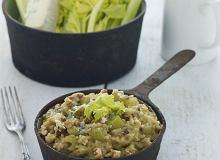 Risotto z gorgonzolą i selerem naciowym - ugotuj