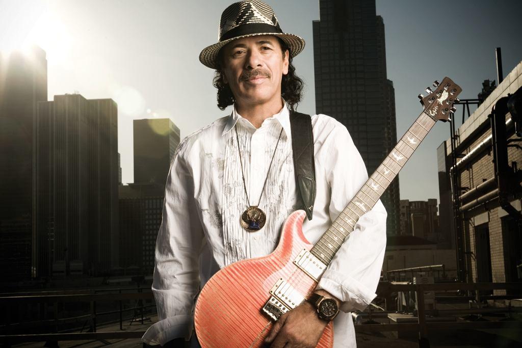 Carlos Santana fot. Sony BMG