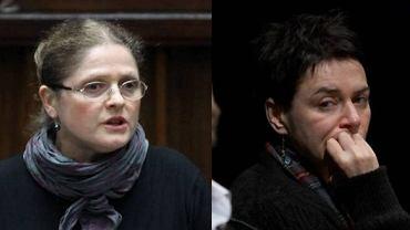 Krystyna Pawłowicz i Kazimiera Szczuka