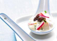 Sos majonezowy z rzodkiewkami - ugotuj
