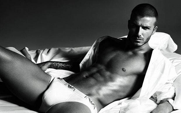 David Beckham jako model