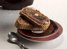 Rolada z wafli z masą kakaowo-cytrynową - ugotuj