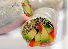 Spring rolls z mieszanką kiełków - ugotuj