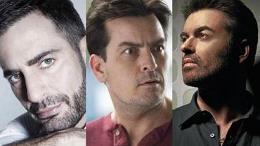 marc jacobs, charlie sheen, george michael