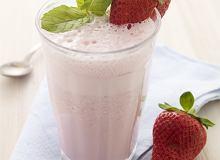 Mleczny koktajl truskawkowy - ugotuj