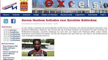 Darren Maatsen na stronie Exscelsioru Rotterdam