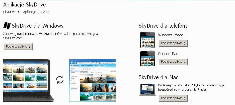 Nowy SkyDrive