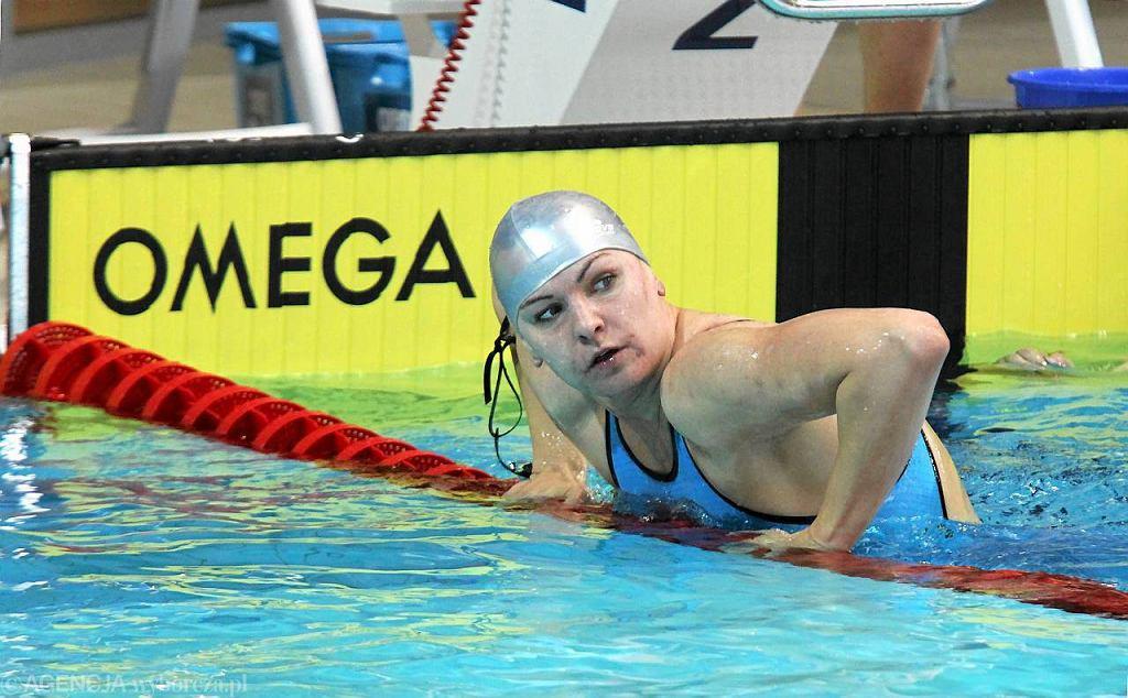 Otylia Jędrzejczak zachęca do pływania także w Opolu