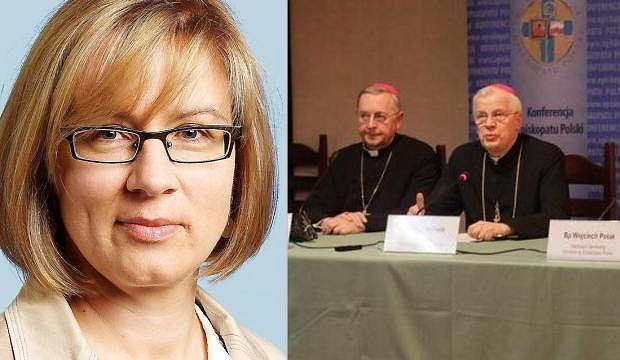 Agata Nowakowska, przedstawiciele episkopatu