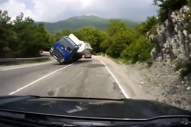 Ten wypadek mógł się skończyć znacznie gorzej