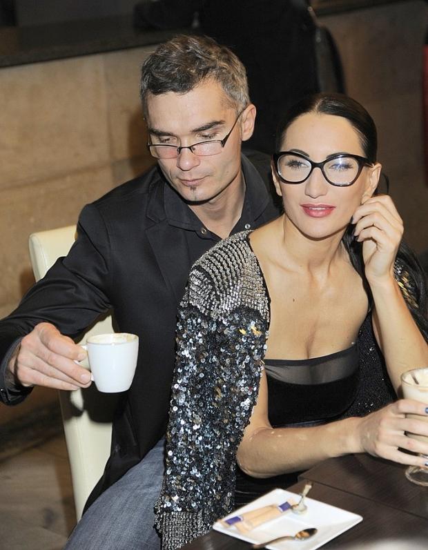 Steczkowska Justyna maz kawa pije