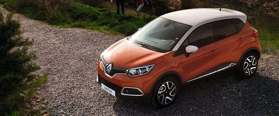 Renault CAPTUR to sportowy crossover łączący w sobie to, co najlepsze, w trzech różnych kategoriach samochodów: osobowość i solidność SUV-a, funkcjonalność vana oraz przyjemność prowadzenia właściwa dla hatchbacka.
