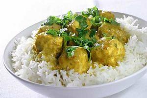 Curry z ryby maślanej