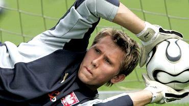 Tomasz Kuszczak, rezerwowy bramkarz reprezentacji Polski, na co dzień grający w angielskim West Bromwich Albion. Ma ambicje być nr 1, ale po występie w meczu z Kolumbią, trudno sobie wyobrazić by Janas postawił właśnie na niego.