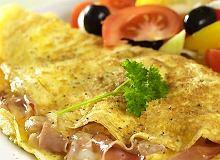 Omlet z szynką - ugotuj