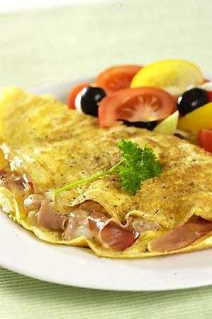 Omlet z szynką