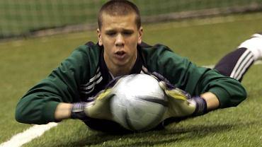 Wojciech Szczęsny w Legii, zdjęcie z 2006 roku