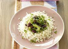 Słodko-kwaśne migdały z ryżem - ugotuj