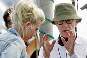 Allen i Johansson podczas kręcenia Vicky Cristina Barcelona