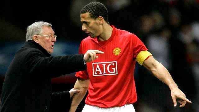 Alex Ferguson i Rio Ferdinand