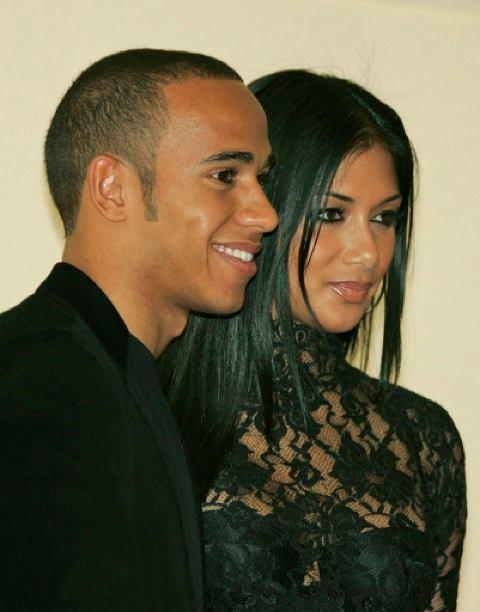 Lewis Hamilton i Nicole Sherzinger