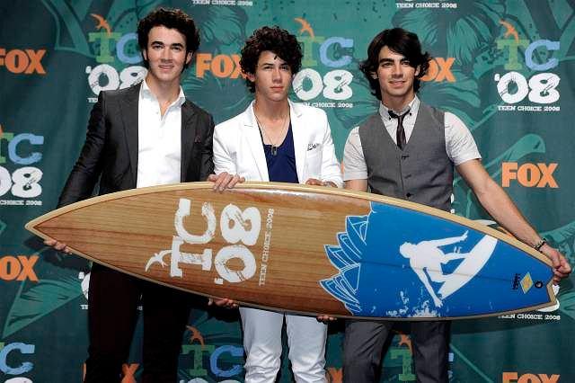 Jonas Brothers na Teen Choice Awards