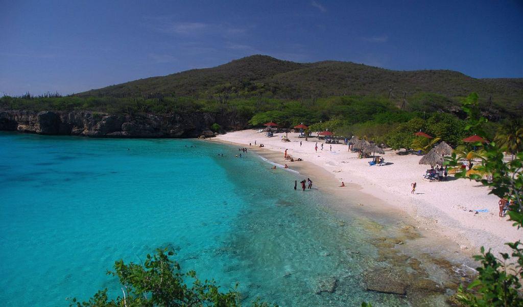 Curacao, plaża Knip