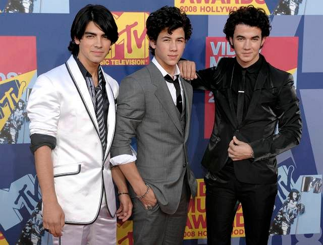 Jonas Brothers na MTV Video Musica Awards 2008